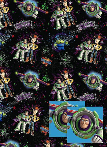 Toy Story 2 sheet/tag wrap