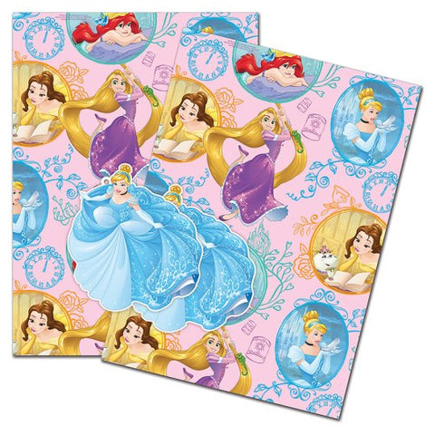 Princess 2 sheet/tag wrap