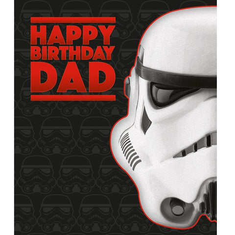 Stormtrooper Dad card