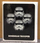 Bohemian trooper card