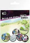 Regular show badge pack