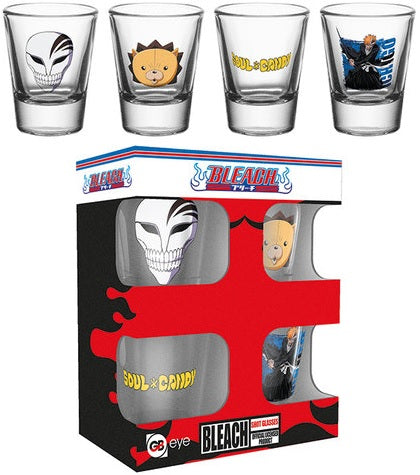 SALE Bleach shot glasses