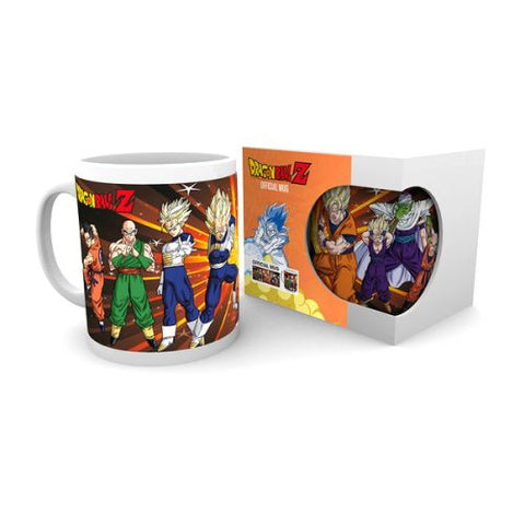 Dragonball Z fighters mug