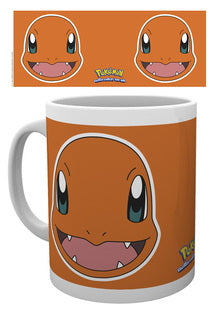 Charmander face pokemon mug