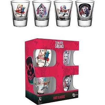Suicide squad shot glasses