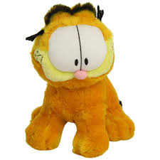 Garfield sitting plush