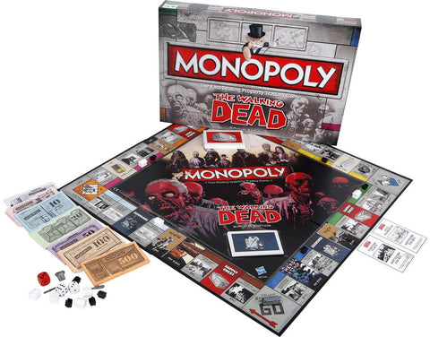 SALE The Walking Dead monopoly