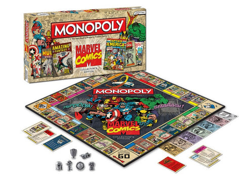 Marvel comic covers monopoly