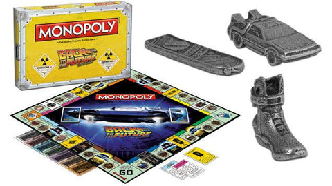SALE Back to the future monopoly