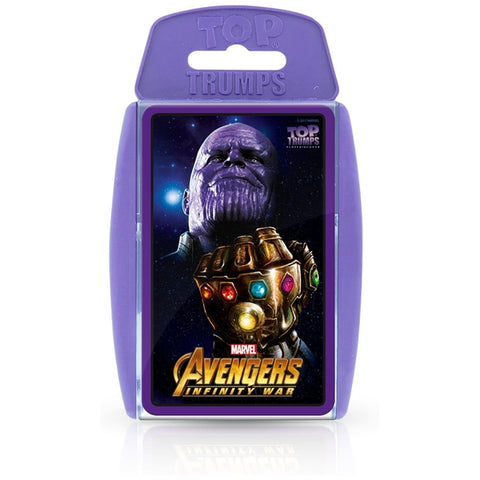 Avengers Infinity war Top Trumps