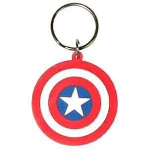 Capt. Am. shield keyring