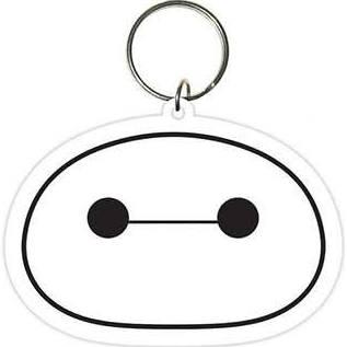 Big hero 6 head keyring