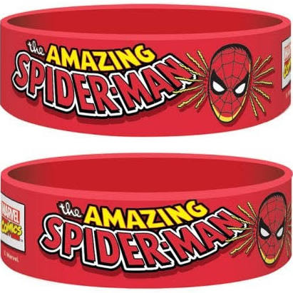 Spiderman wristband