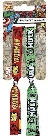 Iron man festival wristband