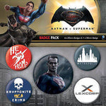 BatmanVSuperman SM badge pac