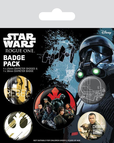 Rogue one rebel badge pack