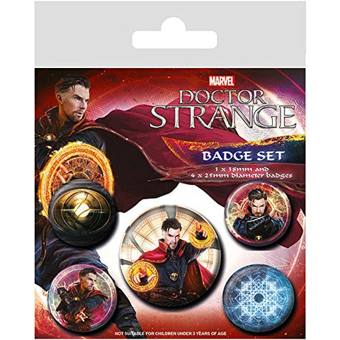 Dr Strange badge pack
