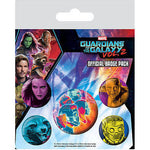 Guardians of the Galaxy Vol2 Cosmic badge pack