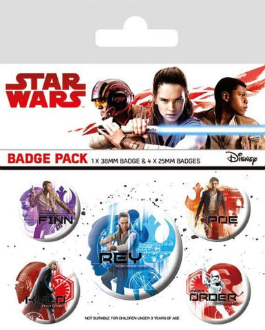 Star wars Last jedi badges