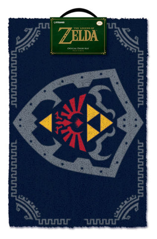 Zelda Hylian Shield doormat