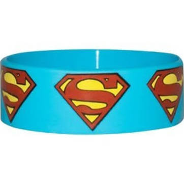 Superman logo wristband