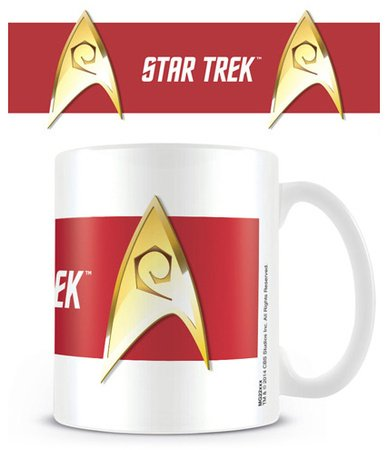 Star trek engineer red mug