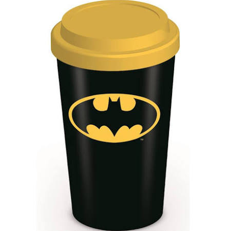 Batman ceramic travel mug