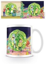 SALE Rick and Morty portal mug