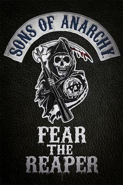 Sons Of Anarchy fear poster