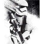 Stormtrooper paint poster