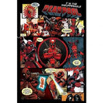Deadpool panels poster