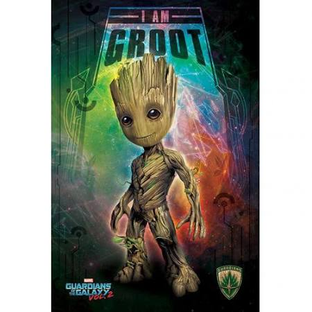 GOTG2 I am groot poster