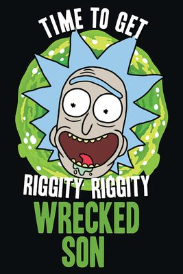 Rick & Morty Wrecked poster