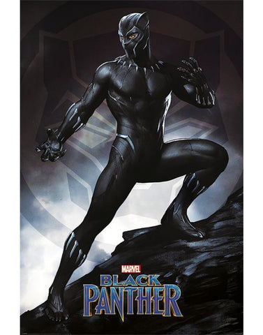Black panther Stance maxi poster