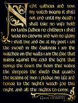 Game of Thrones Oath canvas