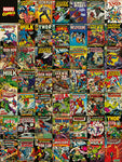 Marvel comic covers canvas