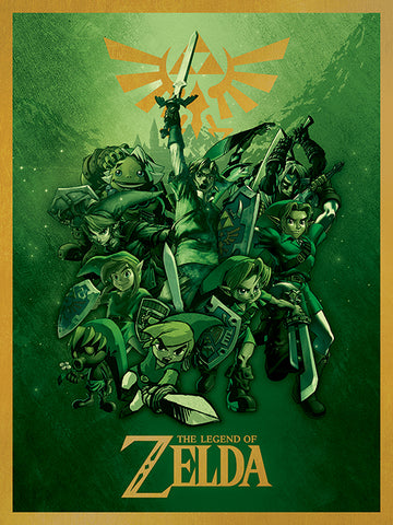 Legend of Zelda canvas