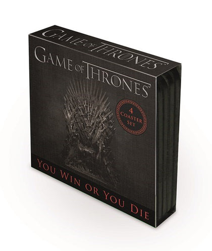 Game of Thrones 4 pack coaster set