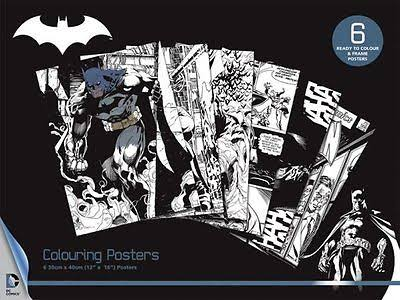 SALE Batman colouring set