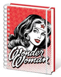 Wonder Woman red notebook