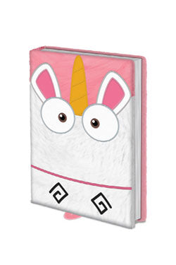 So fluffy plush journal