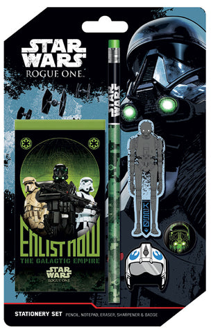 SALE Rogue One stationery set