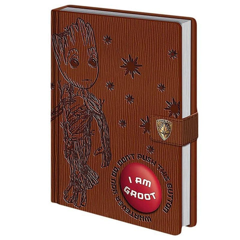 Groot Voice notebook