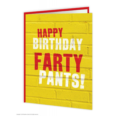 Farty pants card