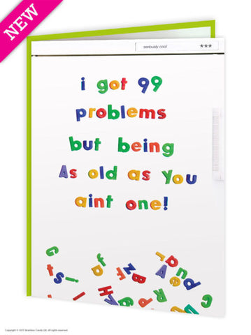 99 Problems card