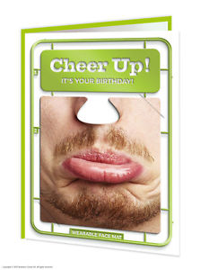 Cheer up facematt card