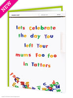 Foo foo tatters card