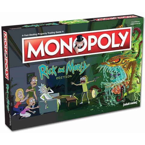 SALE Rick and Morty monopoly