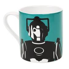 SALE Cyberman contemp. green mug