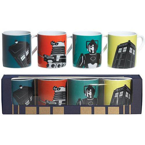 SALE DW contemp. set of 4 mugs